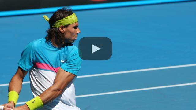 Nadal y Kyrgios abren la caza del título con estilo: Tenis