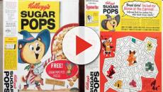 Kelloggs Sugar Pops and Sugar Pops Pete used to be favorites for children