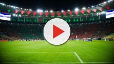 Vídeo: torcida do Fluminense prepara grande protesto