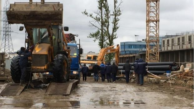 Russia employs North Korean laborers construction jobs