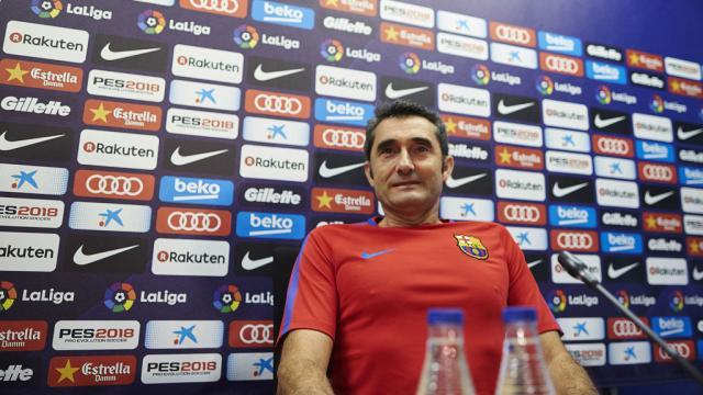 A Valverde no le afecta mucho el último golpe de Dembéle del Barça