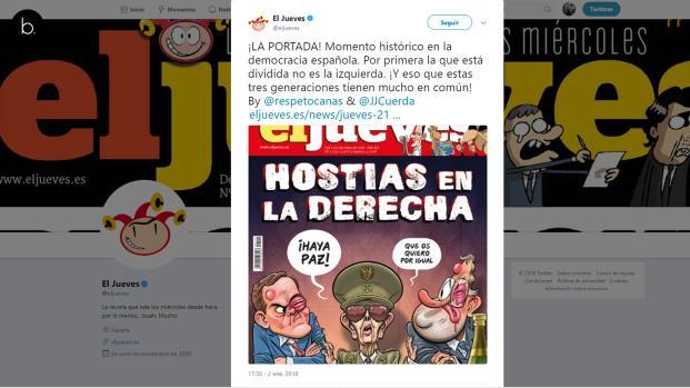 """La portada de """"El Jueves"""" que ridiculiza a Rajoy y Albert Rivera"""