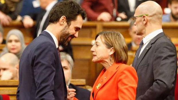 VIDEO: El Parlamento catalán tiene nuevo presidente: Roger Torrent