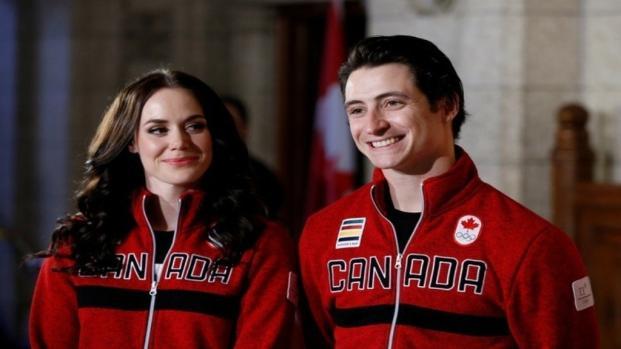 Canada announces Tessa Virtue and Scott Moir as its Olympic flag bearers