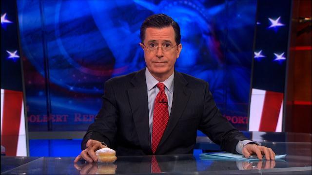 Stephen Colbert habla acerca de la obesidad de Trump