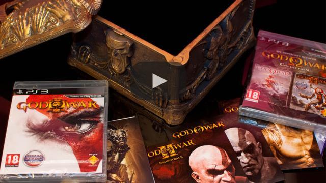 Revelada edición coleccionista de 'God of War 4'