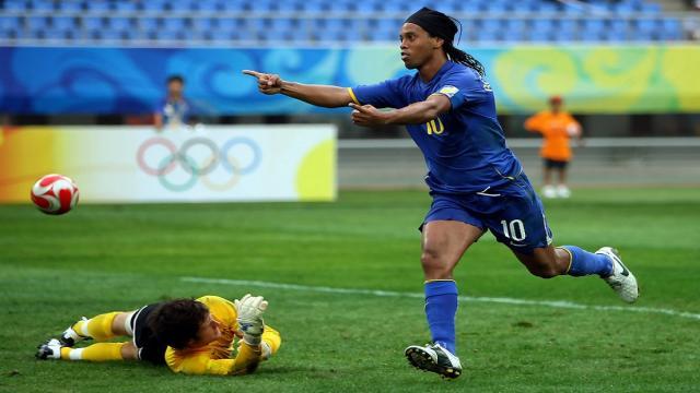 Adiós de fútbol de Ronaldinho: