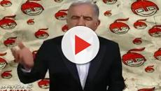 Gene Gnocchi: striscione sotto la sua casa