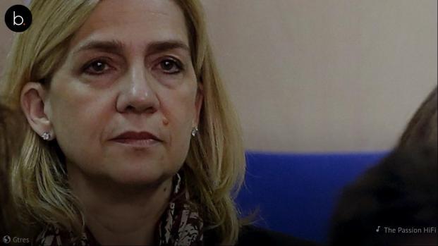 Vídeo: el 2018 no sonríe a la Infanta Cristina
