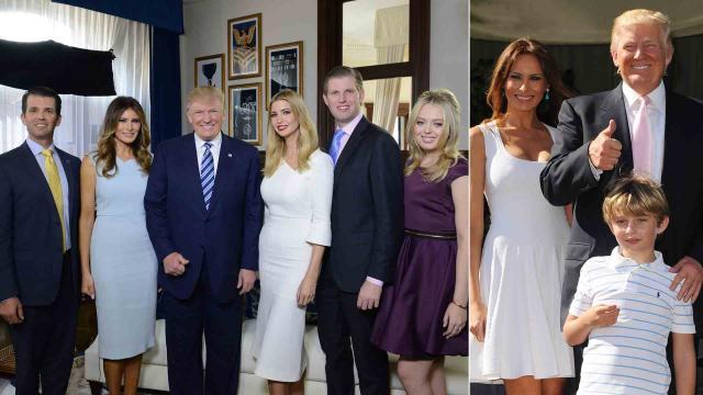 La encuesta revela cuán impopular es la familia Trump