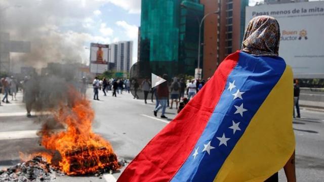 Jóvenes en Venezuela se empiezan a levantar contra el Gobierno