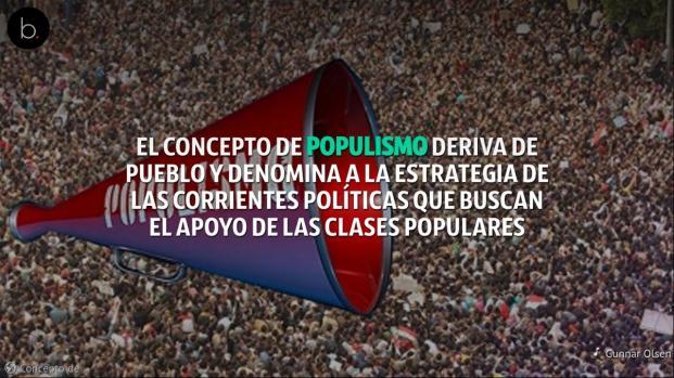 Vídeo: el populismo está de moda