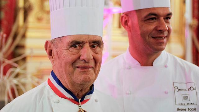 'Papá' de la cocina francesa Paul Bocuse muere a los 91 años