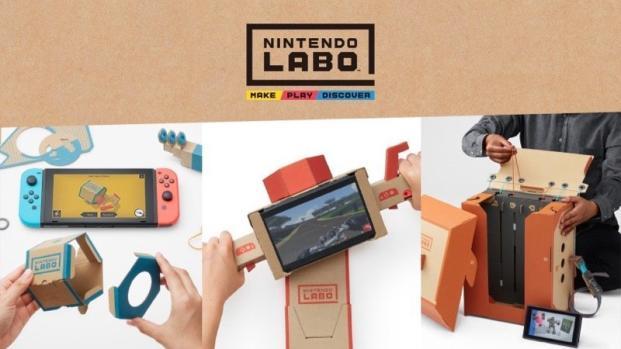 Nintendo Labo: il futuro risiede nella carta