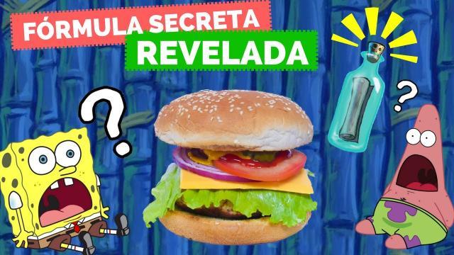 La receta de la Cangreburger habría sido revelada