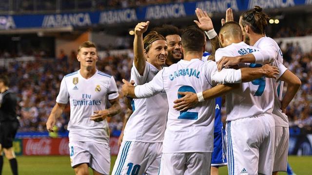 Razones por las cuales Real Madrid ganó el juego contra el Deportivo