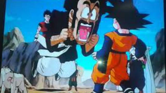 """Bio Guerrero Vs Trunks, androide 18 y Goten"""