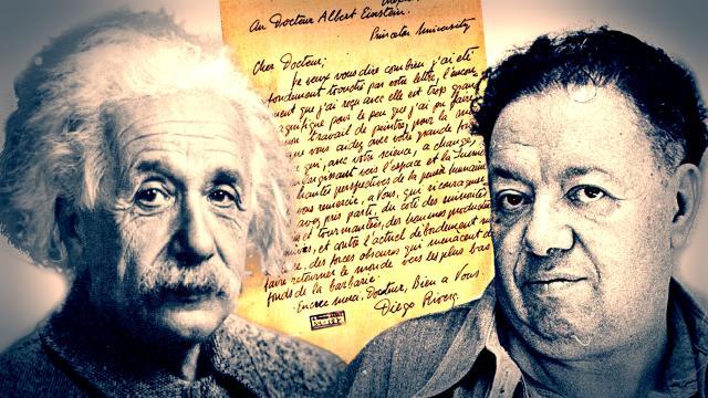 Carta de Einstein defendiendo amigo asesino para subasta