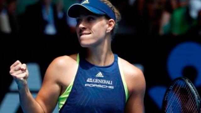 Angelique Kerber avanzó cómodamente a la semifinal en Australia