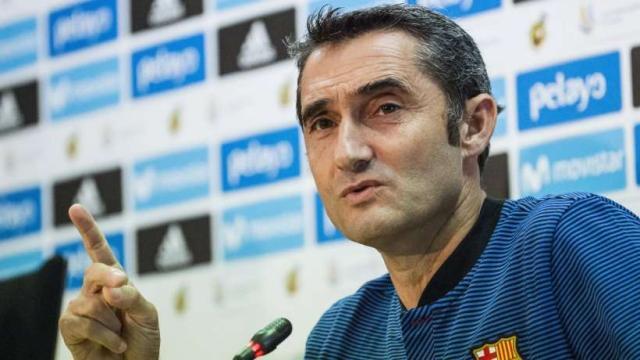 Valverde abre nuevos fichajes en Barcelona en enero