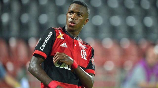 Vinicius Jr del Real Madrid quiere desarrollar más en Flamengo