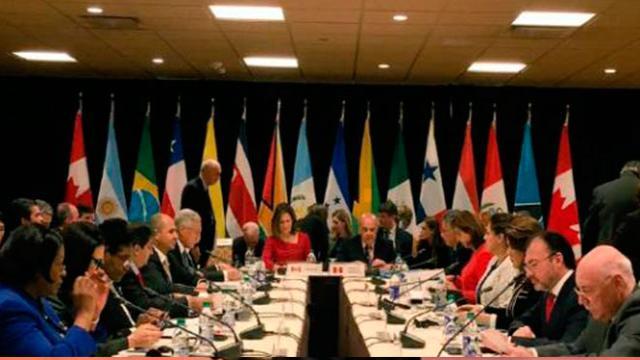 El rechazo del Grupo de Lima al anuncio de Maduro