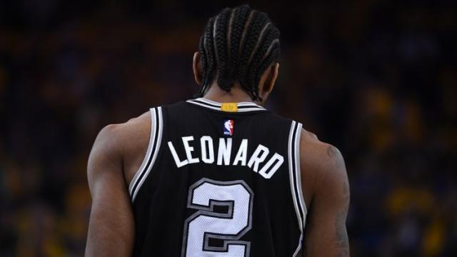 NBA: San Antonio Spurs ha incomodado al atleta Kawhi Leonard