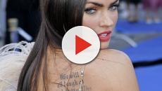 Tatuajes de Megan Fox bien curiosos