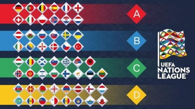 ¡Realizado el sorteo de la UEFA Nations League!