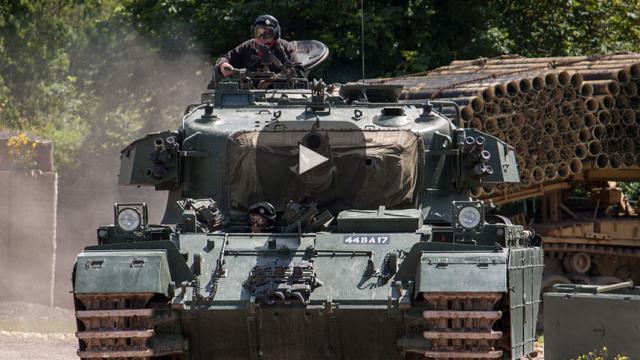 Guerra de Siria: Alemania suspende la actualización a los tanques de Turquía
