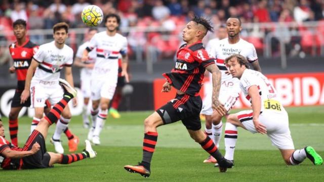 Futbol: Flamengo gana contra Sao Paulo
