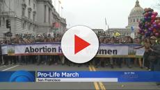 Thousands march in San Francisco anti-abortion event