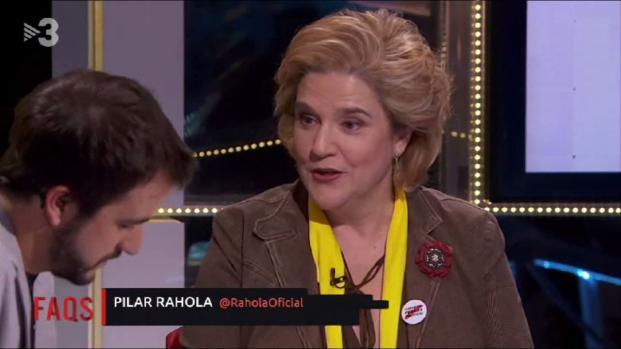 Grave incidente entre Pilar Rahola y el PP