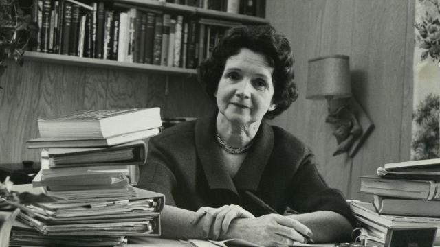 Rachel Carson y su pasión por la naturaleza
