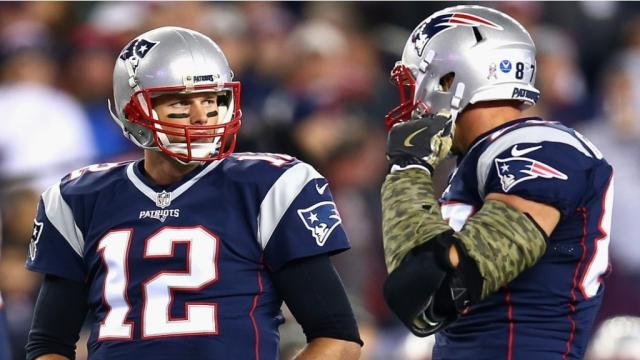 Patriots QB Tom Brady talks about Rob Gronkowski's status for Super Bowl LII