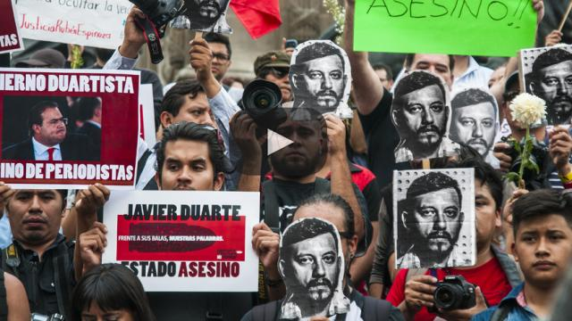 Periodistas siguen siendo asesinados con impunidad en México