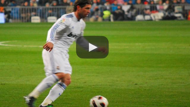 Sergio Ramos e Isco salen lesionados por choque en Valencia
