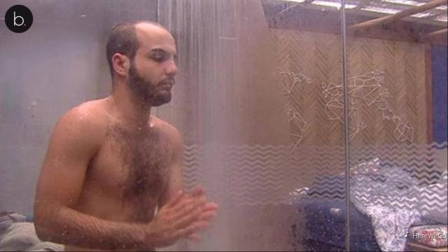 Assista: BBB18: brother tira tudo, toma banho sem sunga e 'detalhe' impressiona