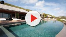Johnny Hallyday : Læticia met leur villa de St-Barth en location !
