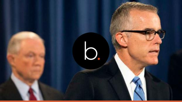 Andrew McCabe retires from the FBI