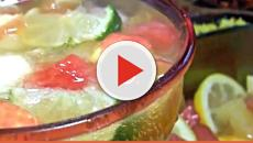 Old school punch is the ideal non-alcoholic drink for a Superbowl Sunday party