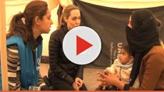 Angelina Jolie visits Syrian refugee camp in Jordan, says it's heartbreaking