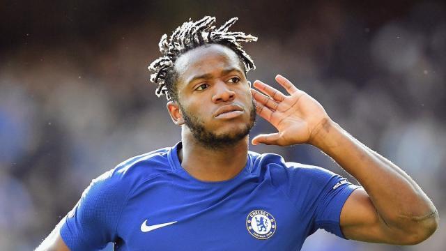 El doblete de Michy Batshuayi ayuda al Chelsea a superar al Newcastle en FA Cup