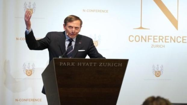David Petraeus: Everything can be commandeered, weaponized