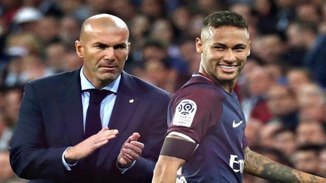 Me Gusta todo sobre Neymar expreso Zinedine Zidane