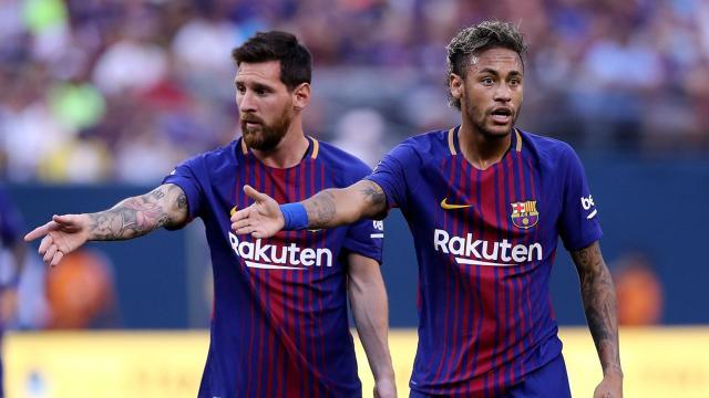 Neymar le cuenta a Messi dónde jugará el próximo año