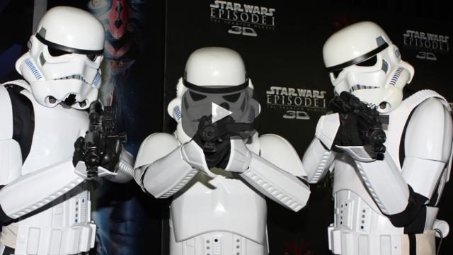 En el túnel del recuerdo con Star Wars: La amenaza fantasma