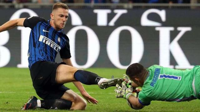 El Real Madrid persigue a Milan Skriniar