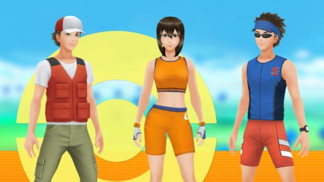 Pokemon Go agrega nuevos conjuntos de avatares desbloqueables
