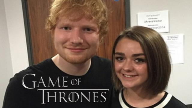 Game of Thrones regresó la temporada 7 con Ed Sheeran